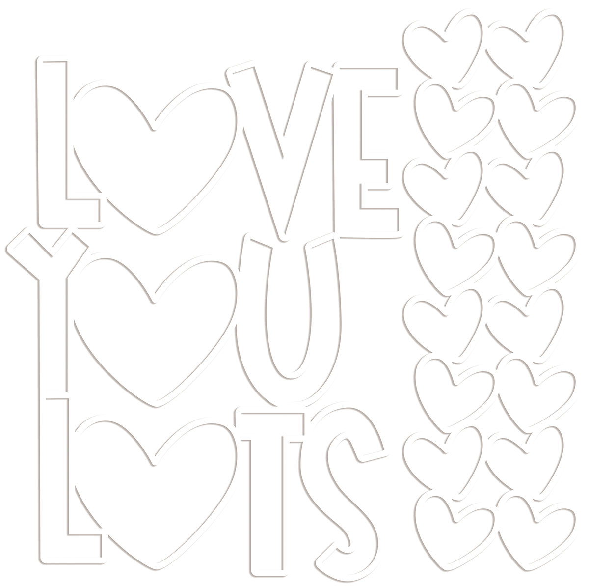 Cut-Outs, Love You Lots