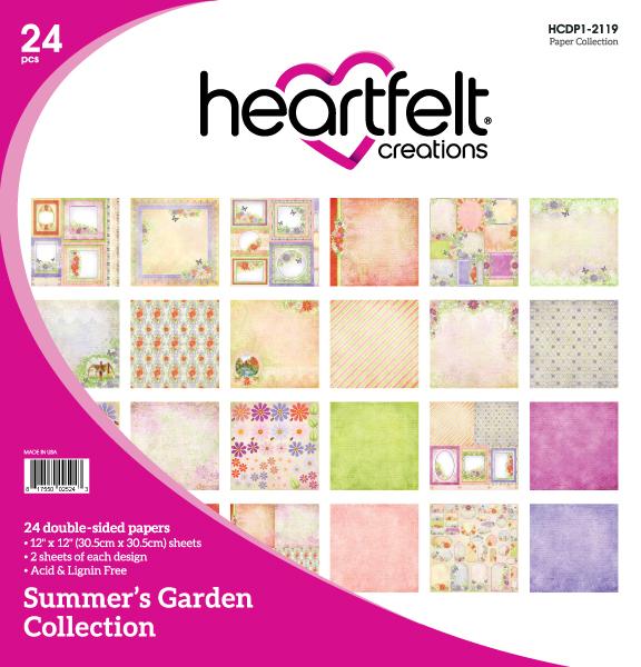 12X12 Paper Collection, Summer's Garden