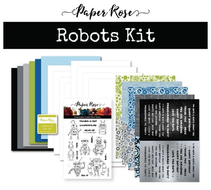 Cardmaking Kit, Robot