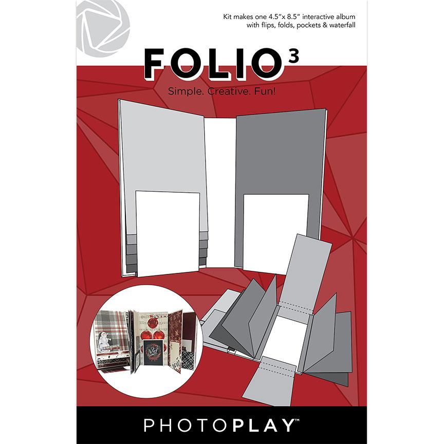 4.5X8.5 FOLIO 3, White