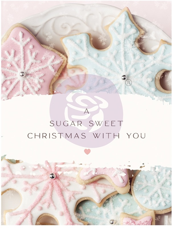3X4 Journaling Cards, Sugar Cookie Christmas