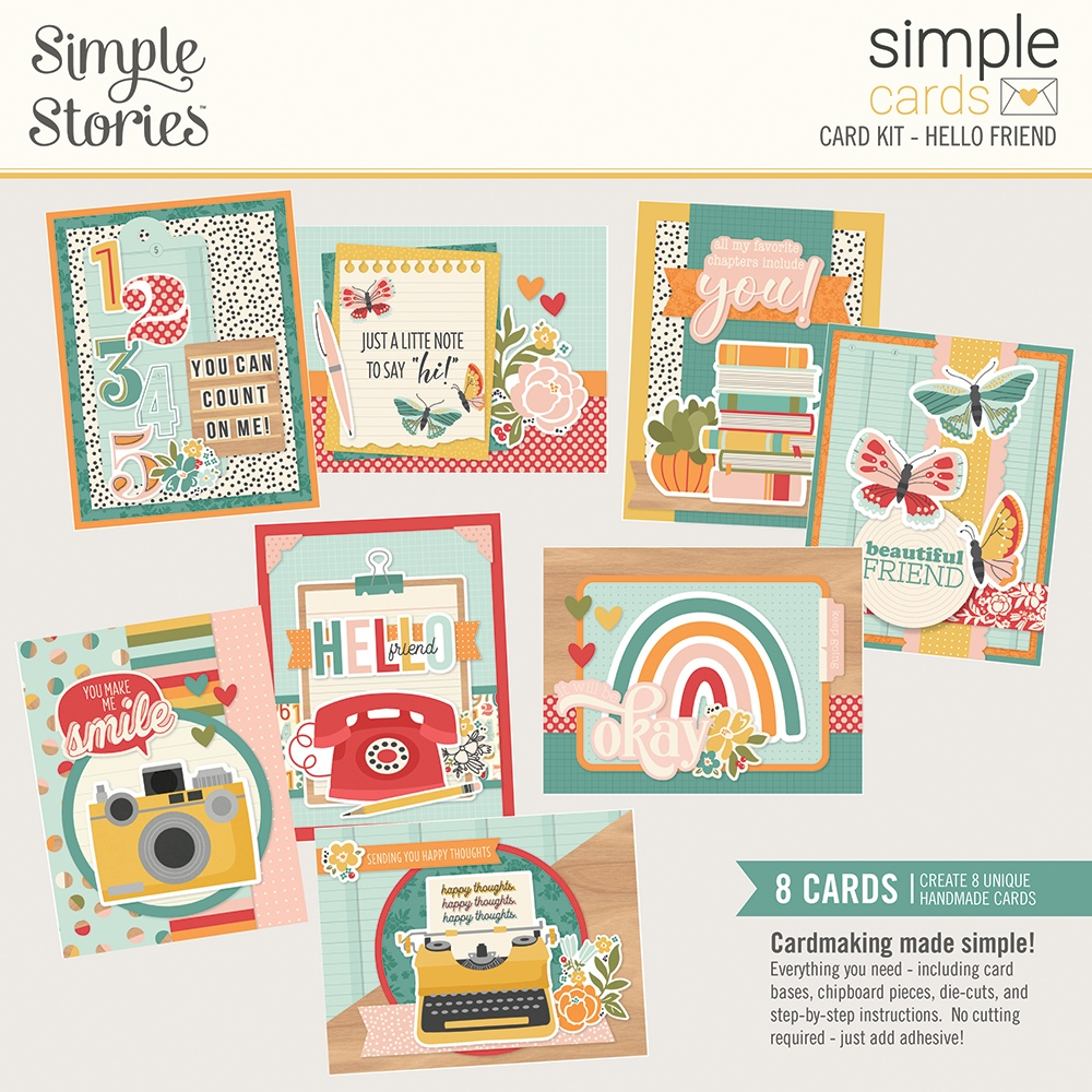 Simple Cards Card Kit, Hello Friend