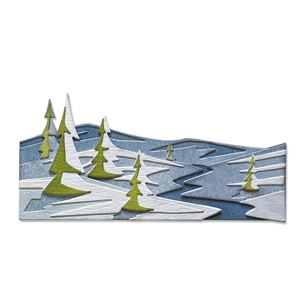 Thinlits Die Set, Colorize - Snowscape (6pk)