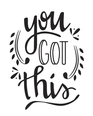 You Got This Embossing Folder, 4.25 x 5.75 inches