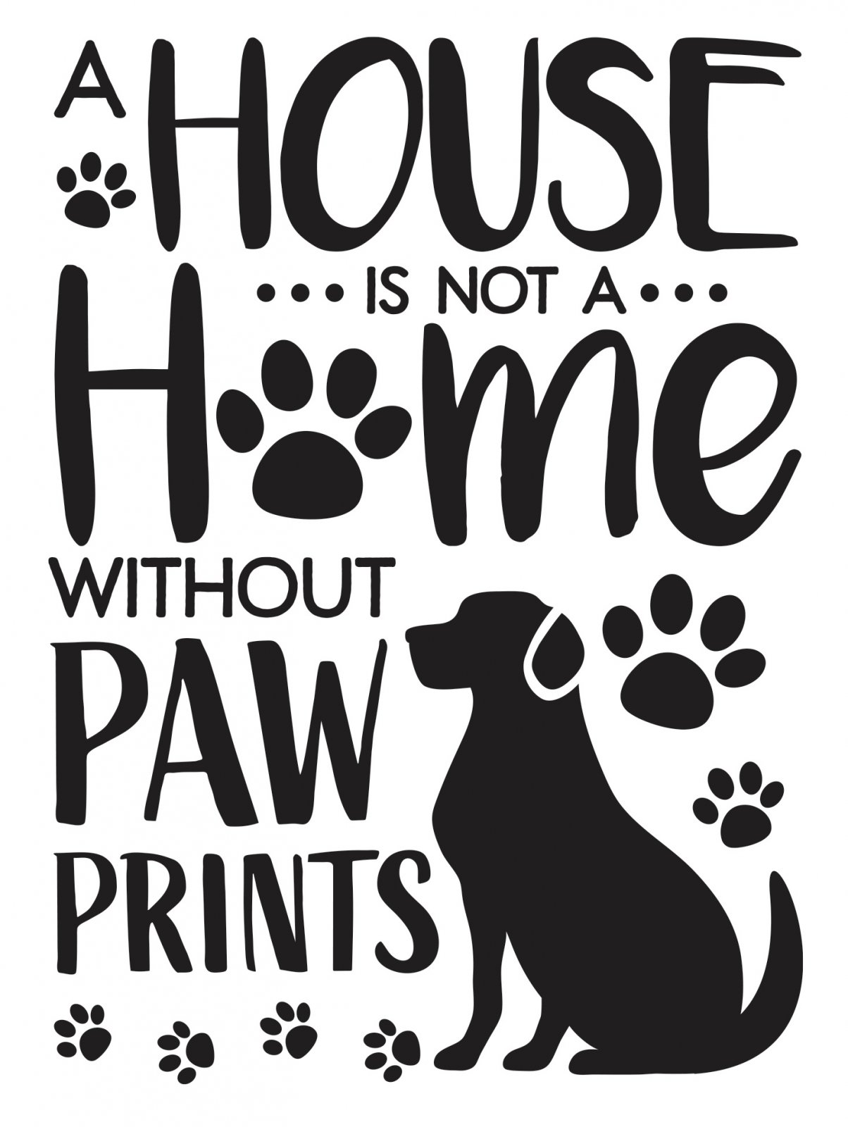 Dog House Embossing Folder, 4.25 x 5.75 inches