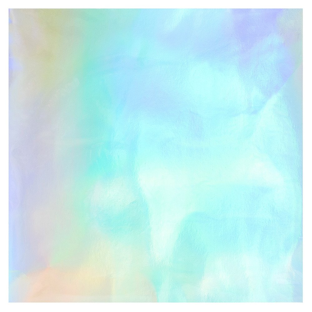 12X12 Foil Board, Rainbow Holographic