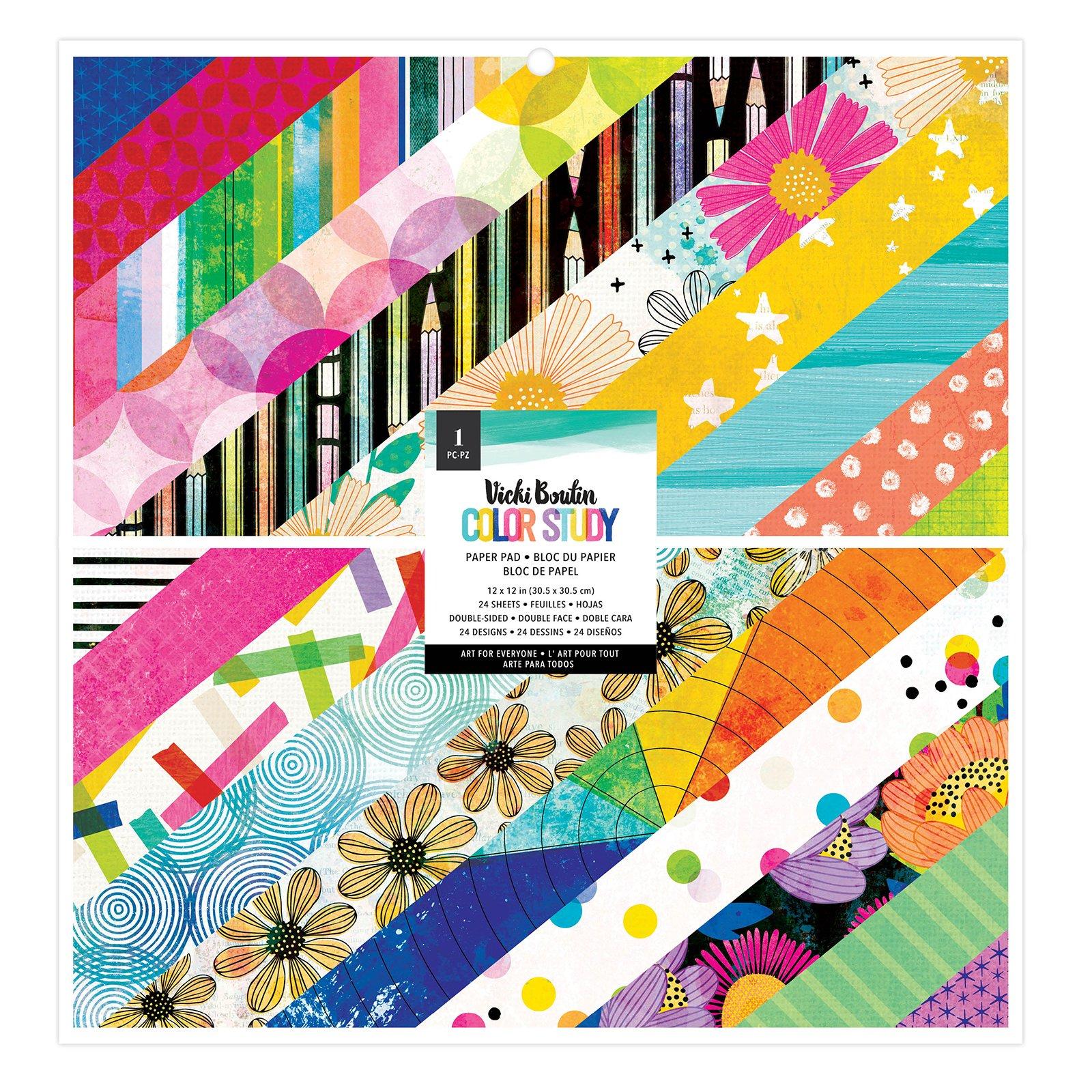 12X12 Paper Pad, Color Study