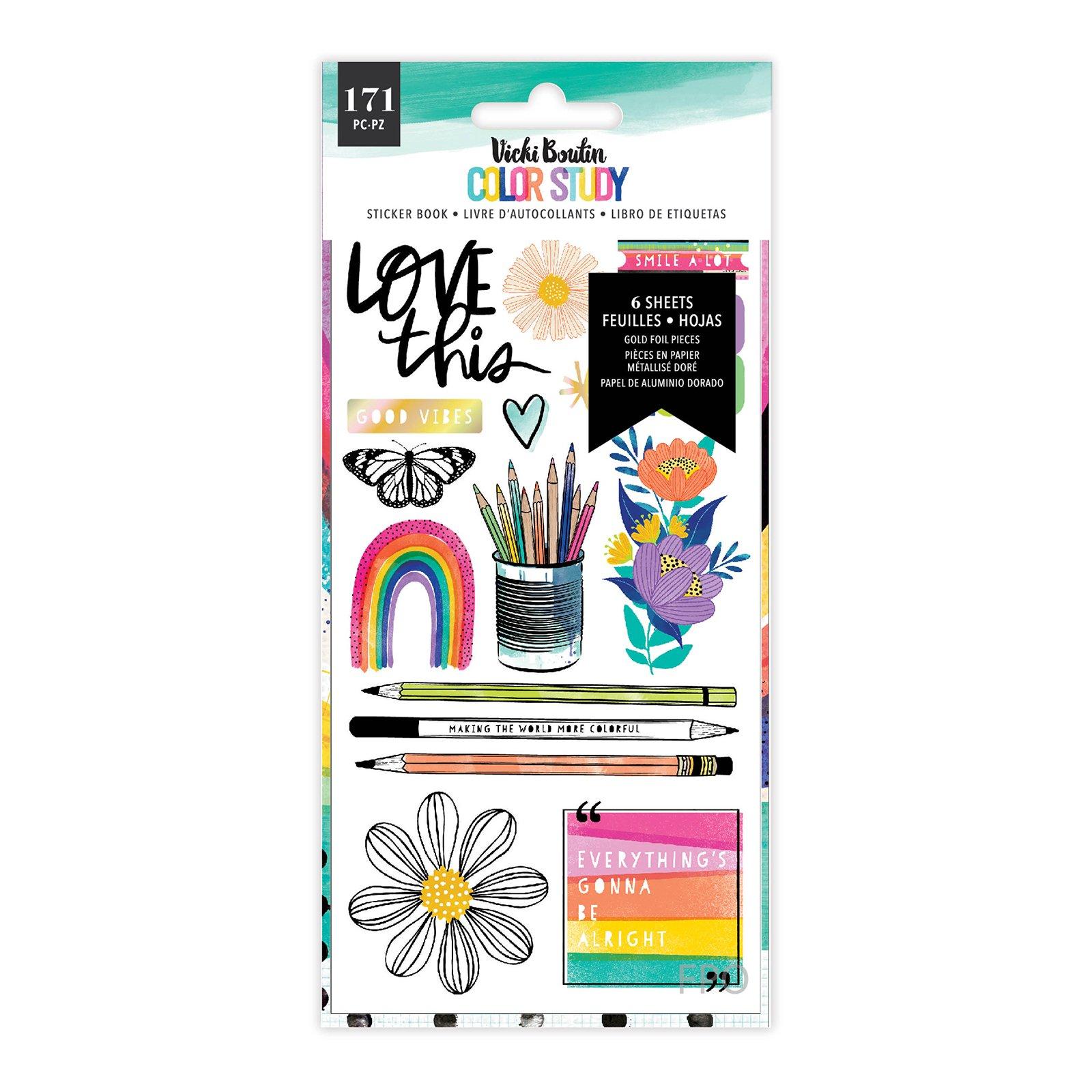 Sticker Book, Color Study