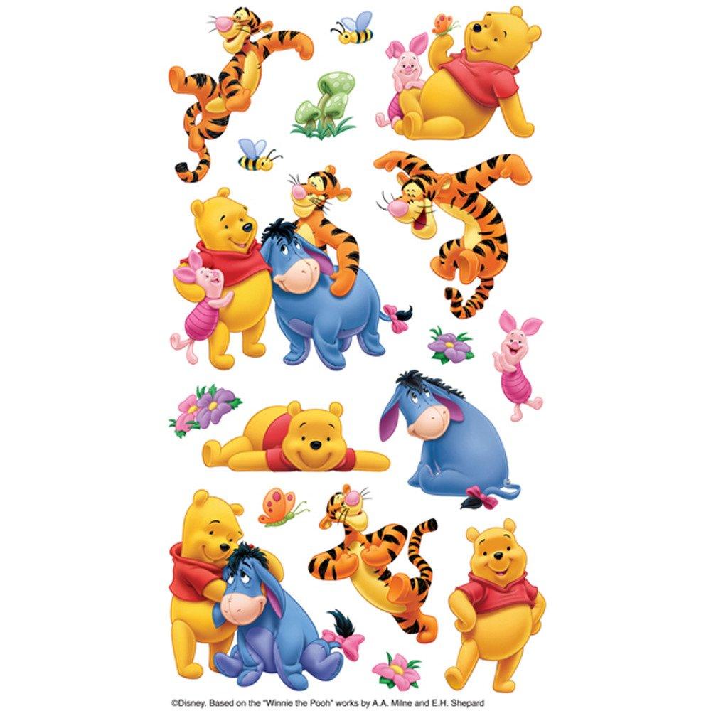 Stickers, Winnie The Pooh & Friends