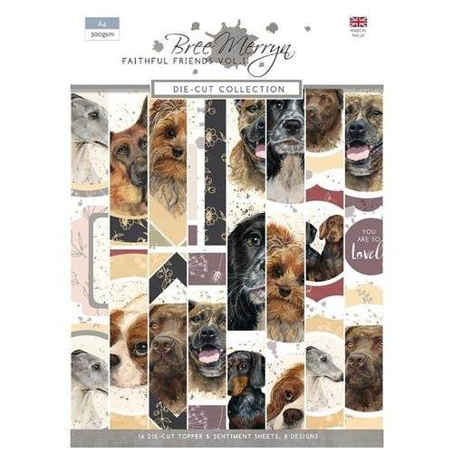Bree Merryn Faithful Friends II - Die-Cut Collection