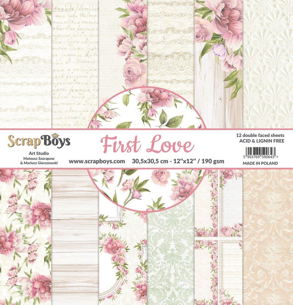 12X12 Paper Pad, First Love