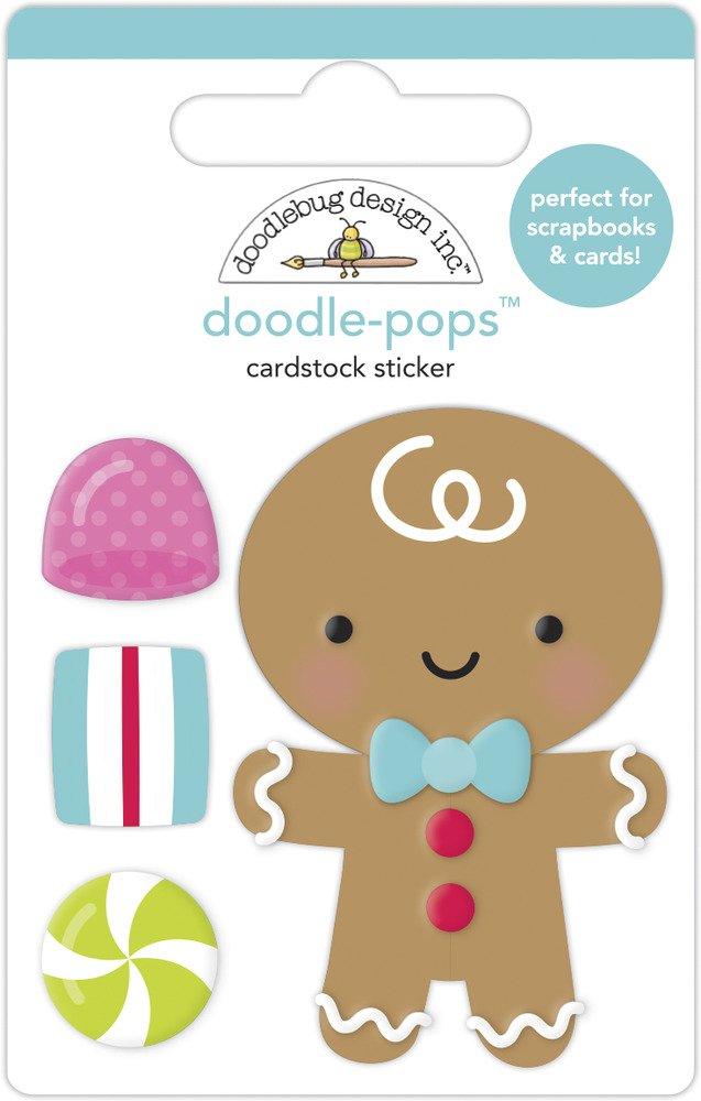 Doodle-pops 3D Cardstock Sticker, NBC - Goody Goody Gumdrops