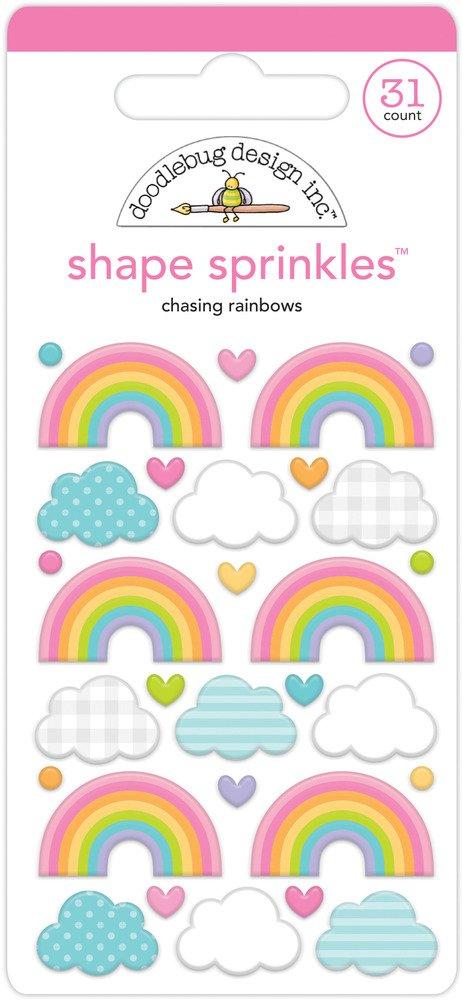 Shape Sprinkles, Fairy Garden - Chasing Rainbows