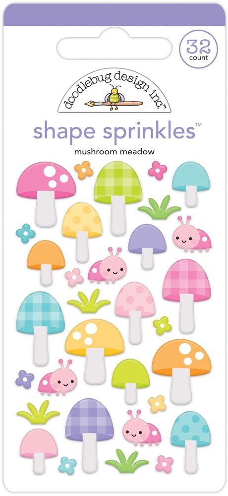 Shape Sprinkles, Fairy Garden - Mushroom Meadow