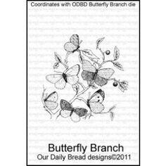 Stamp, Butterfly Branch