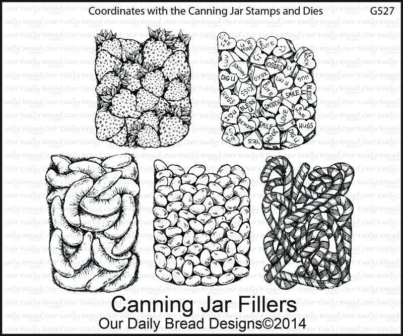 Stamp, Canning Jar Fillers