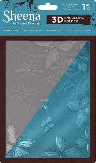 Embossing Folder, Elusive Butterfly