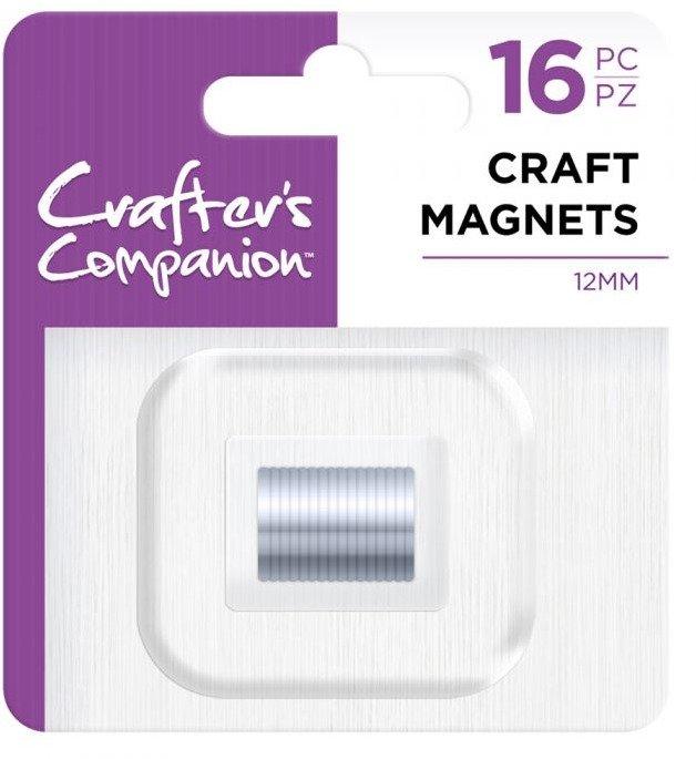 Craft Magnets, 12mm (16pc)