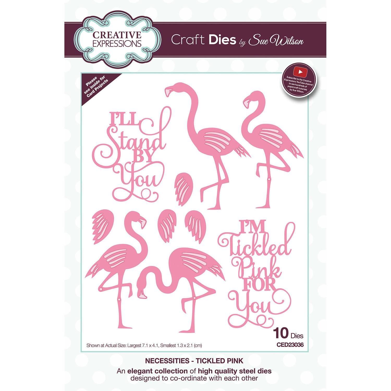 Creative Expressions Craft Dies By Sue Wilson-Necessities-Tickled Pink