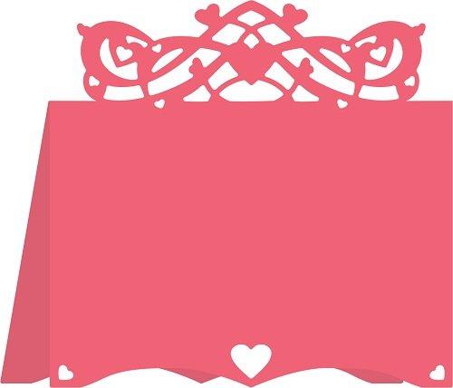 Die, Hearts Flourish Placecard #3