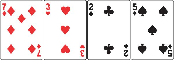 Die, Mini Playing Cards