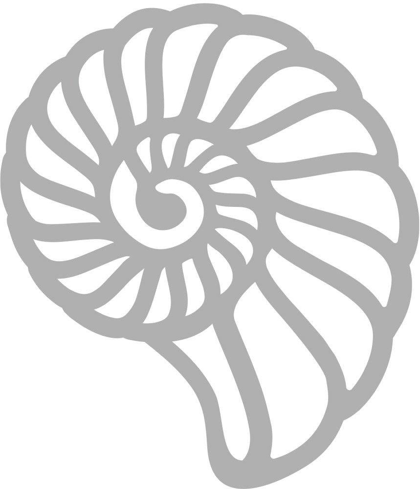 Mini Die, Swirling Shell (1pc)