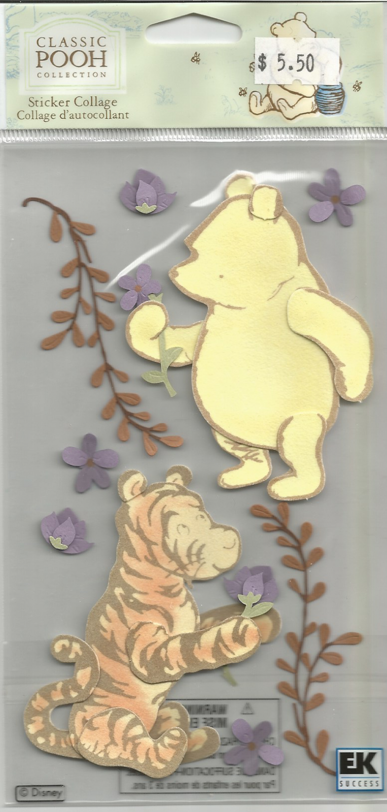 Sticker Collage, Classic Pooh and Tigger