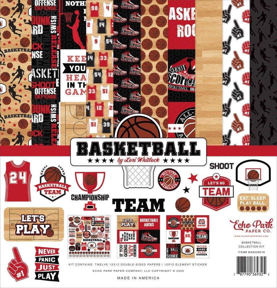12X12 Collection Kit, Basketball