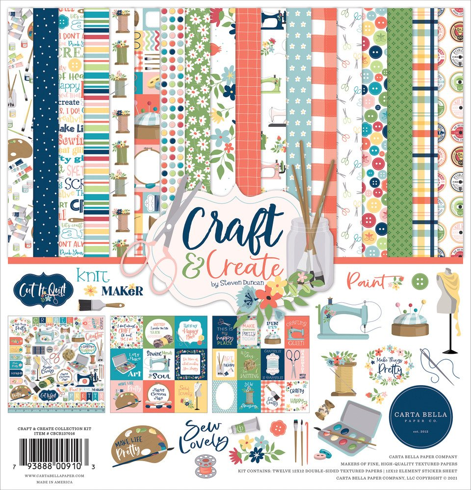 12X12 Collection Kit, Craft & Create