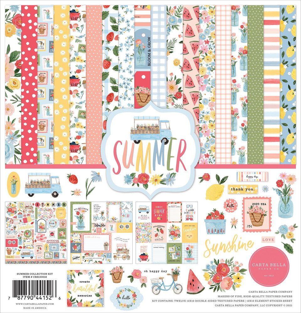 12X12 Collection Kit, Summer