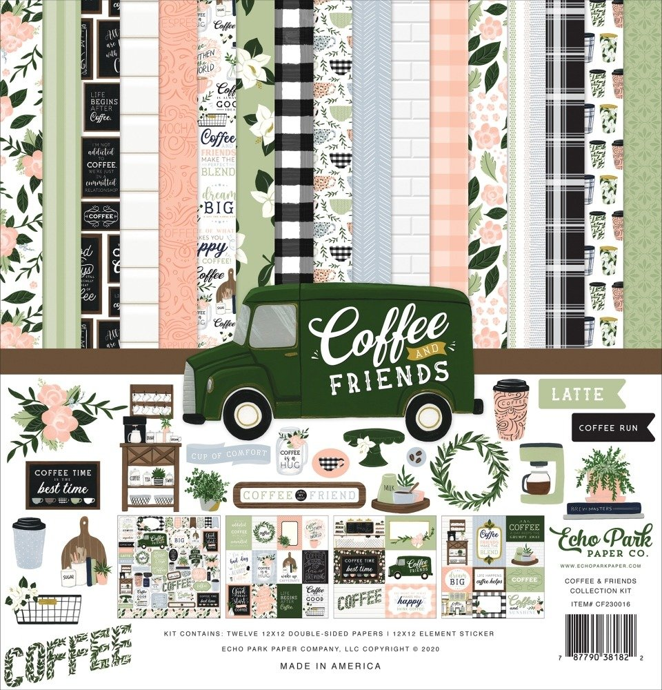 12X12 Collection Kit, Coffee & Friends