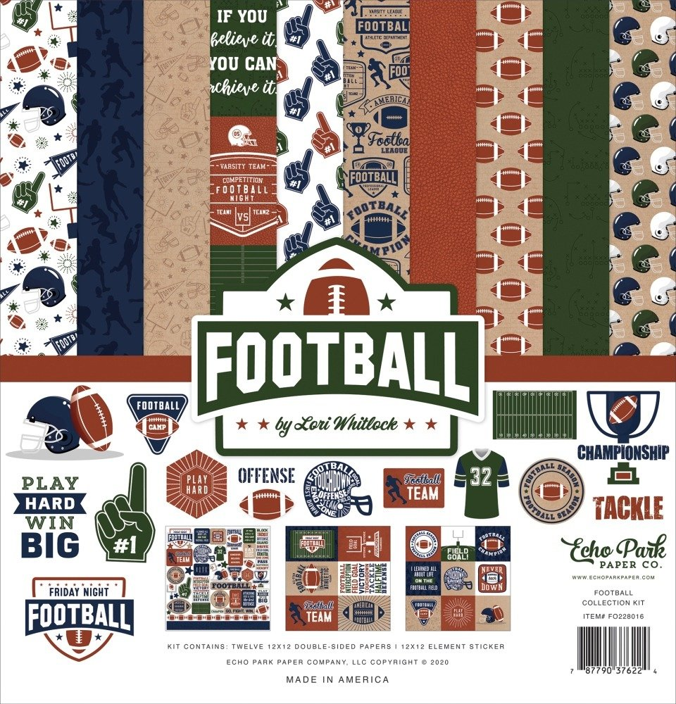 12X12 Collection Kit, Football