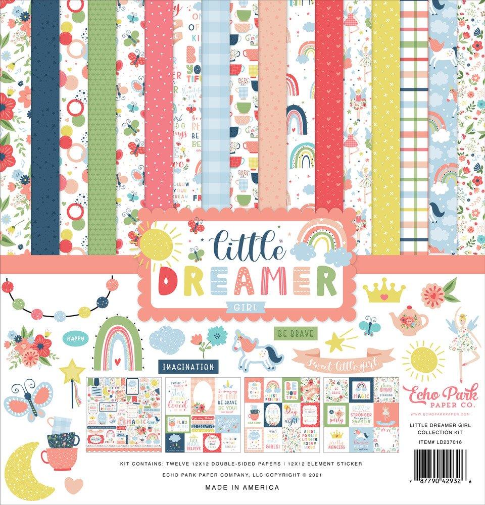12X12 Collection Kit, Little Dreamer Girl