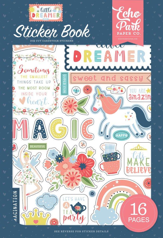Sticker Book, Little Dreamer Girl