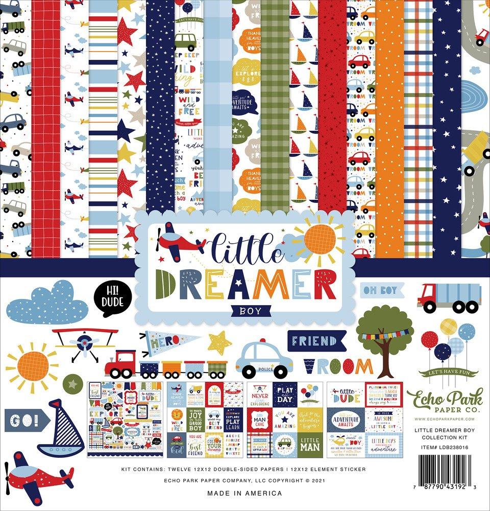 12X12 Collection Kit, Little Dreamer Boy