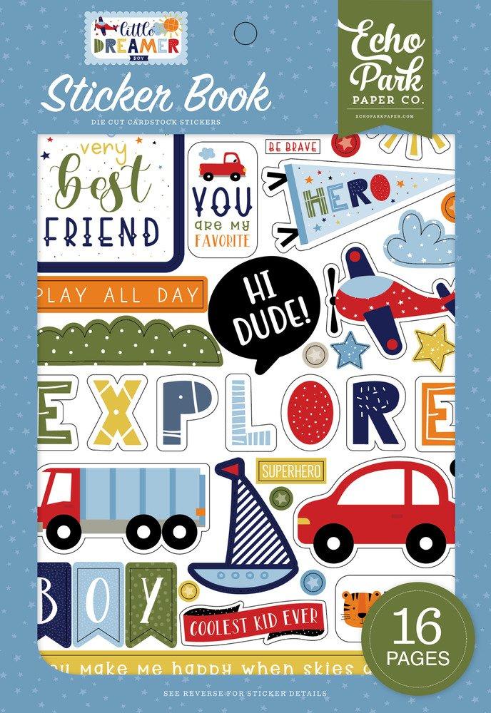 Sticker Book, Little Dreamer Boy