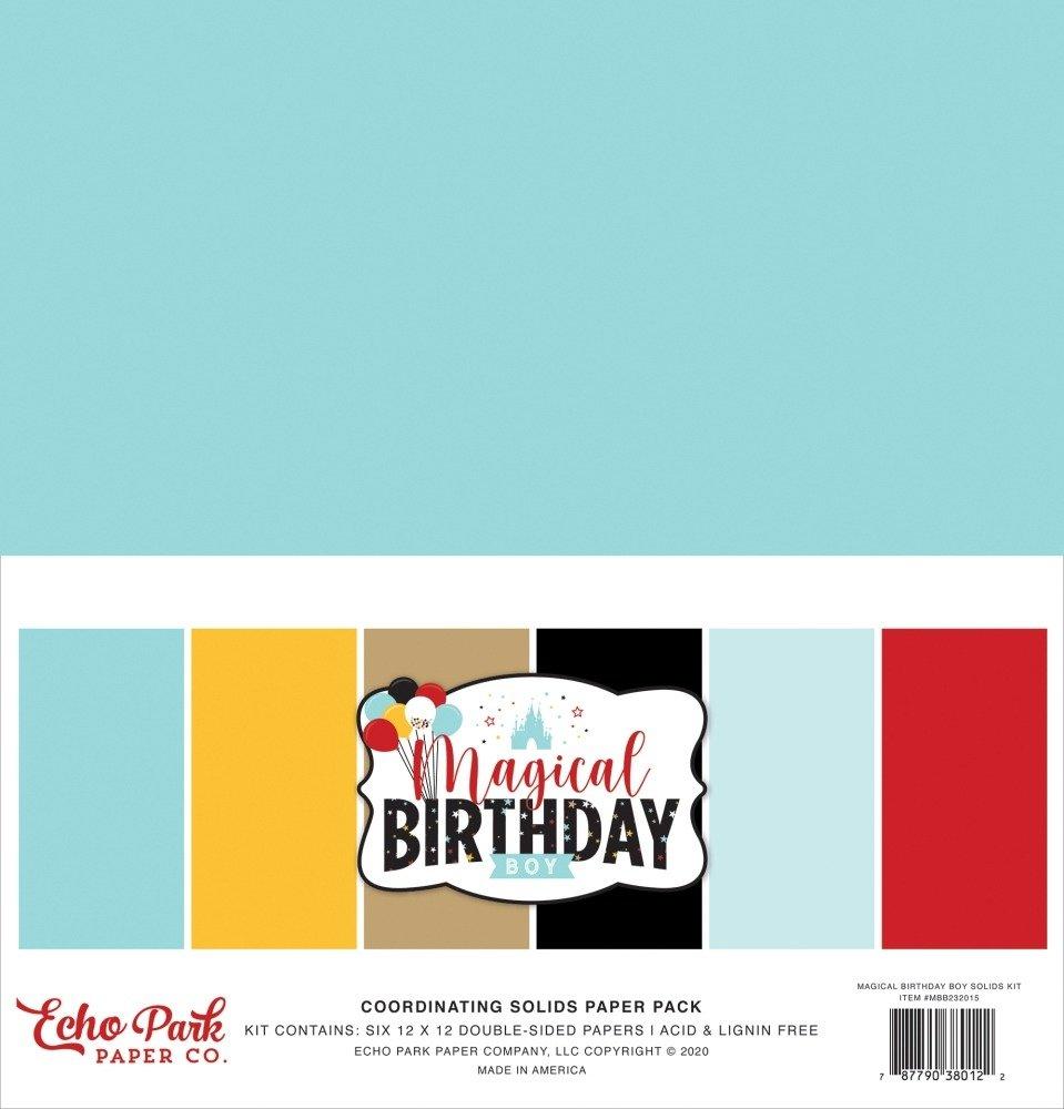 12X12 Solids Kit, Magical Birthday Boy