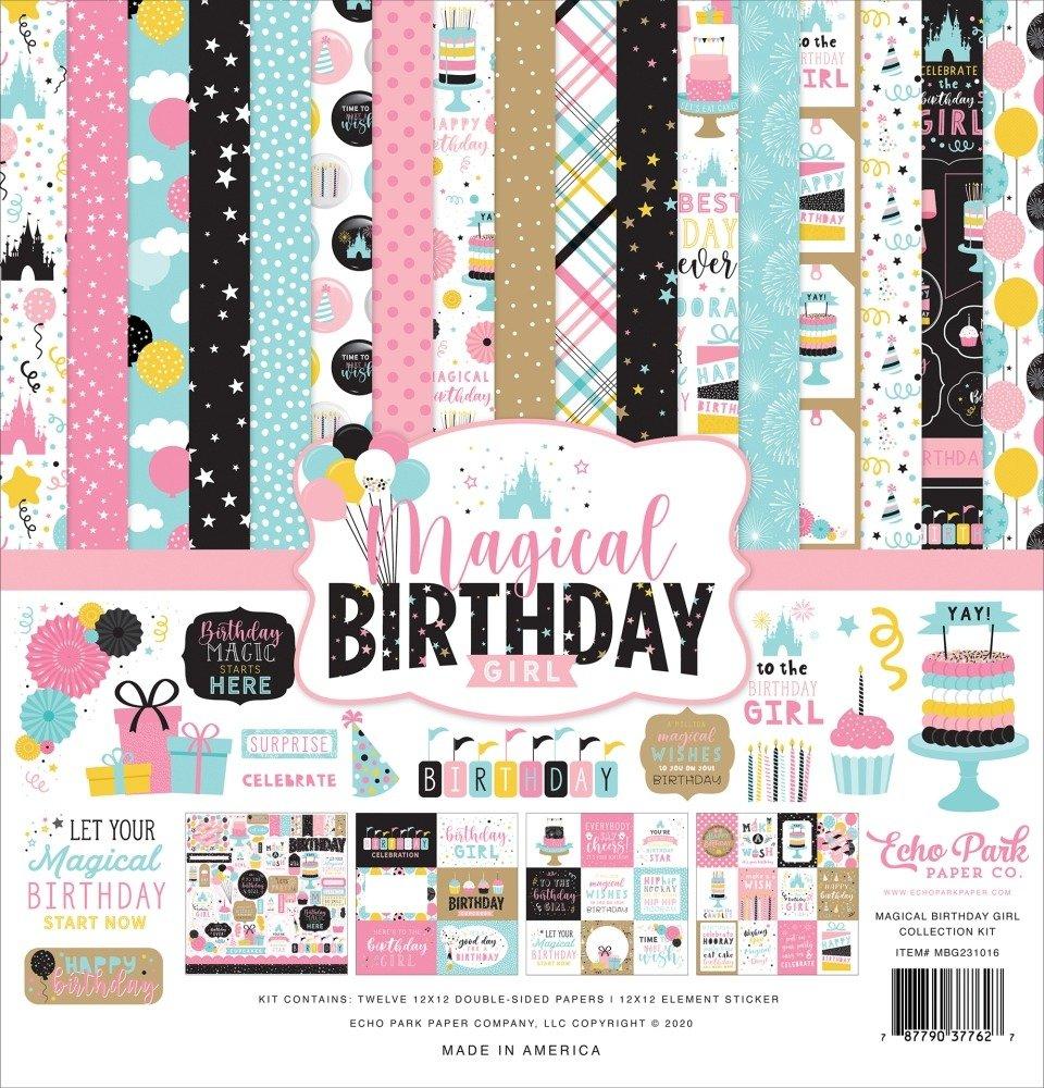 12X12 Collection Kit, Magical Birthday Girl