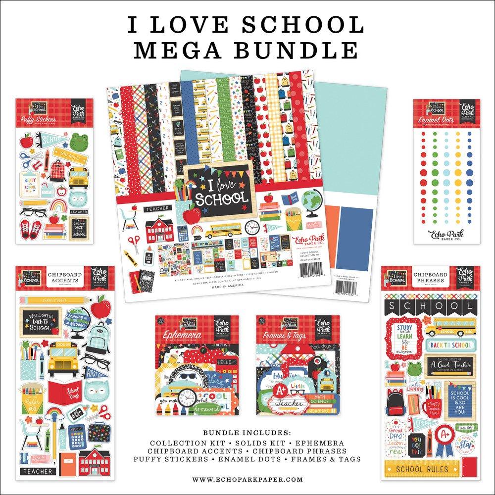 Mega Bundle, I Love School