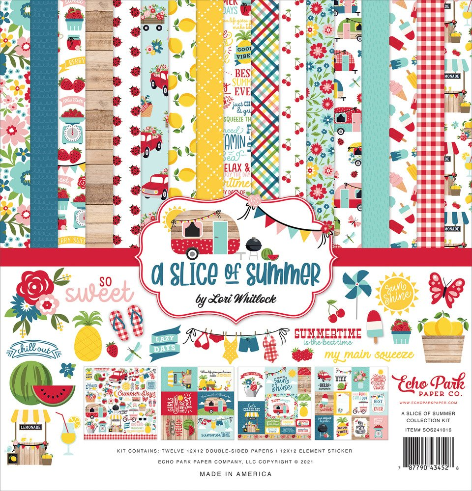 12X12 Collection Kit, A Slice of Summer