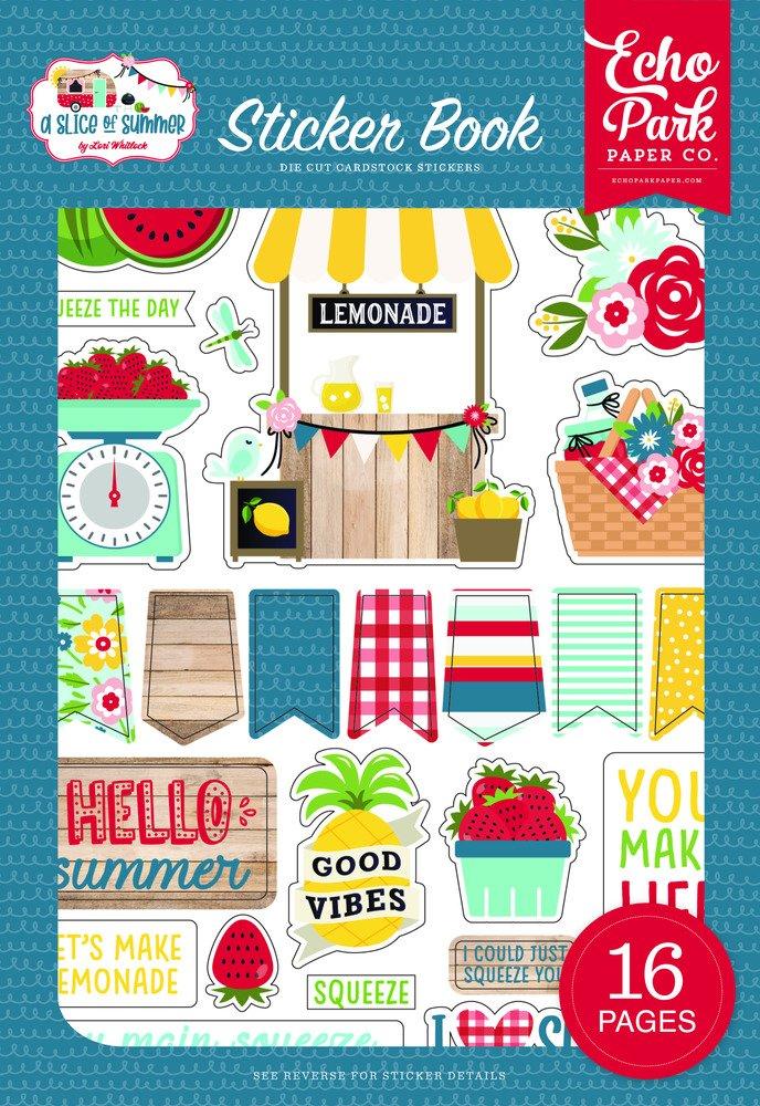 Sticker Book, A Slice of Summer