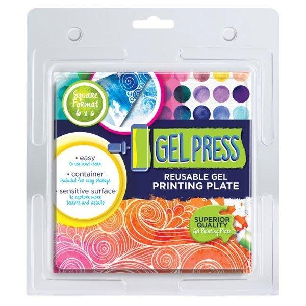 Gel Press, 6x6