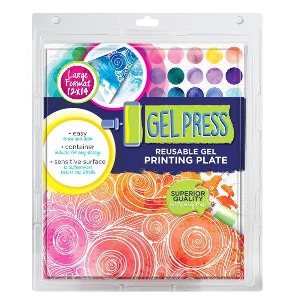 Gel Press, 12x14