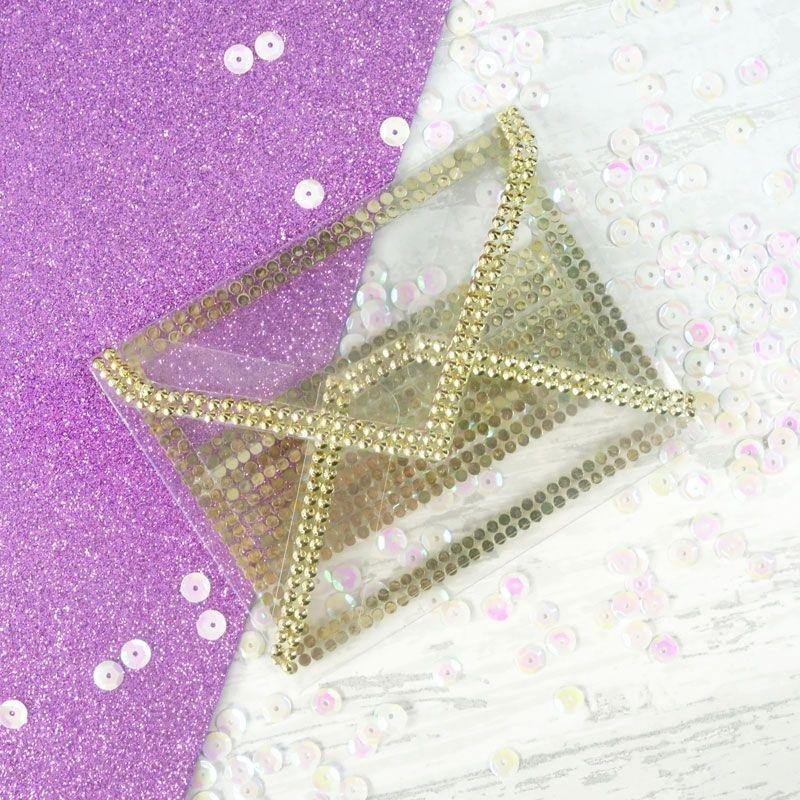 Diamond Sparkles Gemstone Rolls - Gold & Silver