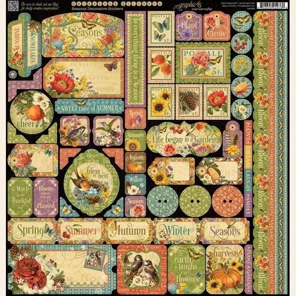 Stickers, Seasons