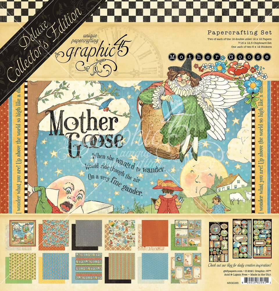 12X12 Deluxe Collector's Edition, Mother Goose