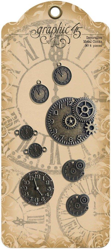 Decorative Metal Clocks