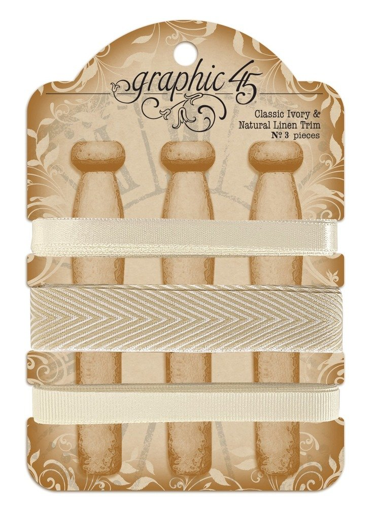 Trim, Classic Ivory & Natural Linen