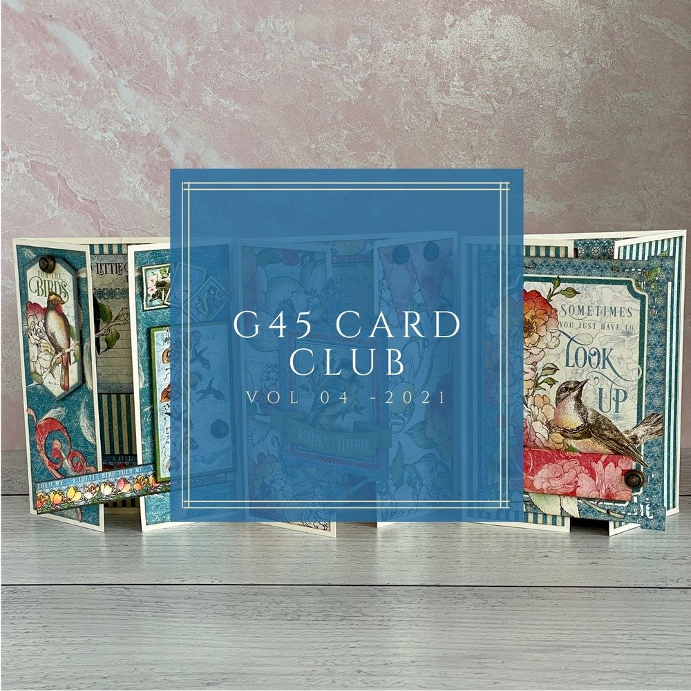 G45 Card Club Kit, Vol 04 April 2021 (Bird Watcher)