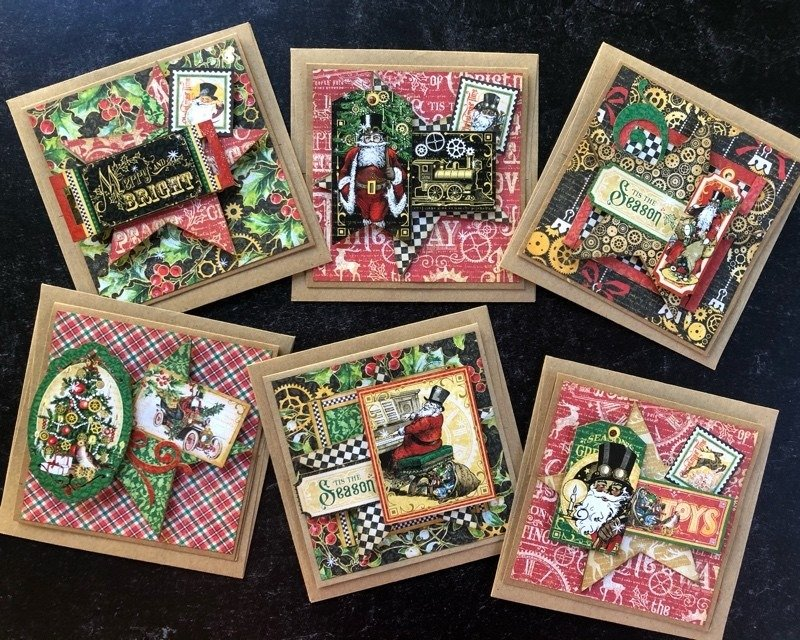 G45 Card Club Vol 10 October 2020 Kit (Christmas Time)